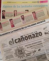 Prensa cubana.