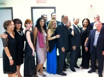 La delegación de Isla Negra en la Fundación Corripios, Inc.