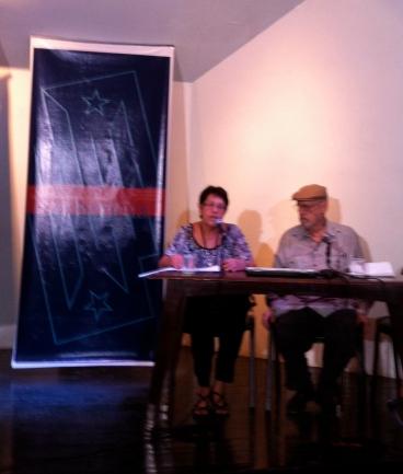 Apertura del evento por Yolanda Wood y Roberto Fernández Retamar.