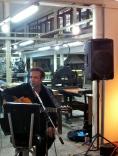 jerry Segarra durante el cierre del evento.