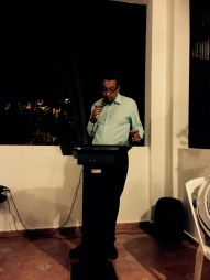 Carlos Roberto Gómez Beras, Poeta y Editor de Isla Negra.