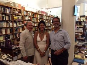 Arnaldo Gonzále, Yvonne Denis y José Muratti.