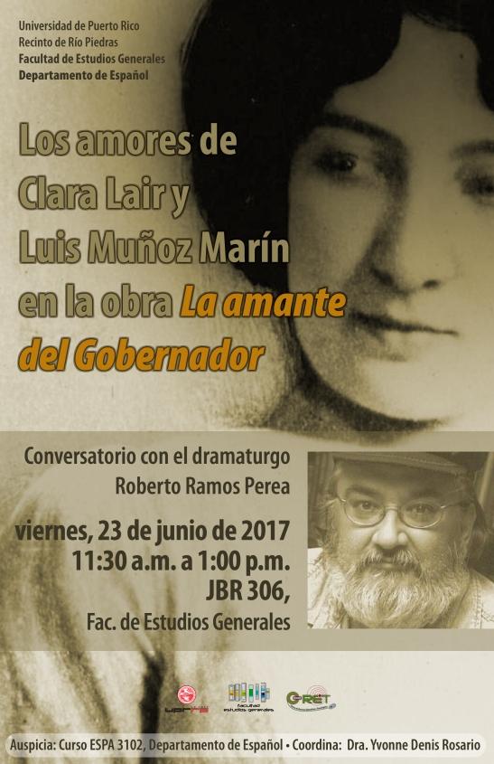 Los amores de Clara Lair y Luis Muñoz Marín