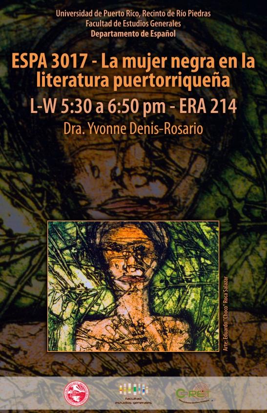 ESPA 3017 La mujer negra en la literatura puertorriqueña
