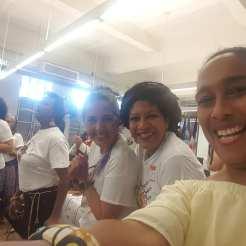 María Reinta, Yvonne Denis y Judith Conde