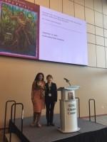 Yvonne Denis con Dra. Luz Angélica Kirschner